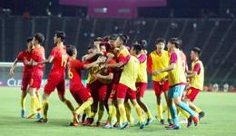 国青6-0狂胜菲律宾豪取两连胜 末轮打平即可出线