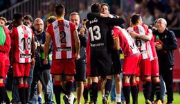 赫罗纳首次踢皇马就赢球 巴萨也得谢加泰老乡