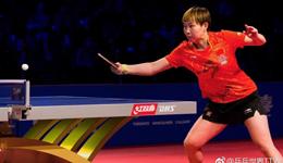 世界杯朱雨玲4-3逆转刘诗雯 首夺三大赛单打冠军