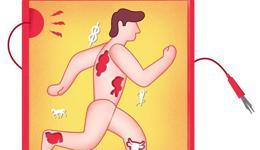 跑者4部位肌肉易紧张 需预防电解质失衡