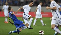 附加赛佩里西奇中柱 克罗地亚总分4-1进世界杯
