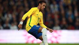 热身赛哈特救险费鸟远射中柱 英格兰主场0-0巴西