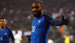 热身赛拉卡泽特2球施廷德尔绝杀 德国2-2法国