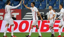 热身赛-拉莫斯点球梅开二度 西班牙3-3平俄罗斯