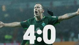 德国国脚戴帽不莱梅4-0赛季首胜 迈出保级第一步