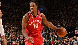 NBA东西部周最佳球员 德罗赞唐斯当选东西部上周最佳