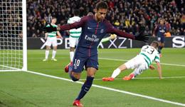 内马尔2射1传卡瓦尼2球 欧冠-巴黎7-1逆转大胜