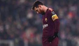 欧冠-梅西替补拉基中柱 巴萨0-0尤文锁头名出线