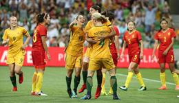 热身-新帅首秀遭惨败 中国女足全场被动0-3澳洲