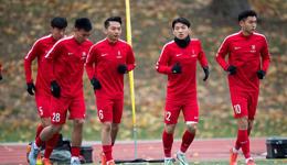 热身-恒大小将戴帽 中国U20选拔队6-1大胜德丙U19