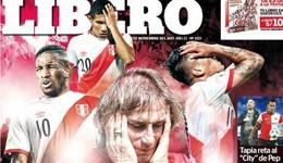 秘鲁若被剥夺世界杯资格 意大利智利最有望入替