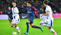 法甲-内马尔传射卡瓦尼建功 巴黎2-0以10分领跑