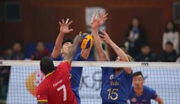 男排世俱赛上海出师不利 首战0-3负东道主球队