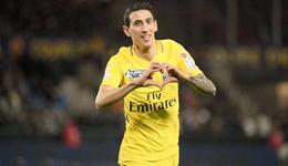 法联杯-迪马利亚阿尔维斯建功 巴黎4-2取胜进8强