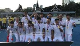 中国盲人国足亚锦赛决赛2比0伊朗 第5次加冕