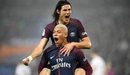 法甲-姆巴佩传射卡瓦尼建功 巴黎3-1卡昂仍领跑