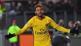 2017法甲半程最佳 内马尔卡瓦尼前2名