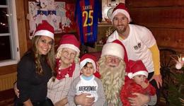 梅西全家暖洋洋过圣诞 梅西圣诞节最新消息