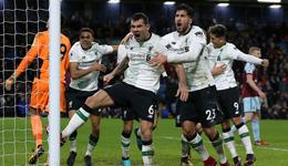 英超-马内破荒铁卫补时绝杀 利物浦客场2-1伯恩利