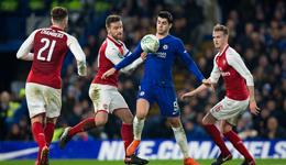 联赛杯-威尔希尔伤退 切尔西主场0-0闷平阿森纳