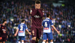 梅西失点球保利尼奥伤退 国王杯-巴萨被绝杀0-1
