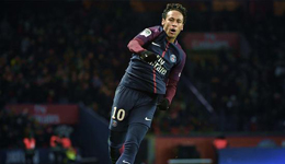 内马尔大四喜天使2球 法甲巴黎8-0大屠杀
