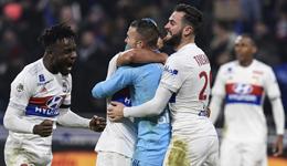 阿尔维斯染红内马尔缺阵 巴黎1-2遭里昂补时绝杀