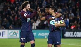 法国杯-迪马利亚造乌龙2助攻 巴黎4-2甘冈进16强