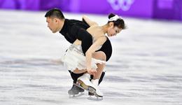 花滑团体双人于小雨/张昊列第五 俄奥运选手领跑