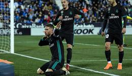 西甲-C罗轮休拉莫斯点射 皇马3-1逆转升至第3位