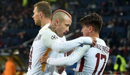 云代尔4场5球弗雷德世界波 欧冠-罗马1-2遭矿工逆转