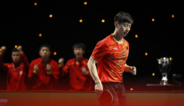 马龙两分中国男乒3-0日本 团体世界杯勇夺7连冠