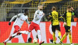 欧联-许尔勒进球难救主 多特主场1-2负萨尔茨堡