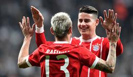 欧冠-蒂亚戈破门后伤退 拜仁3-1总分8-1晋级8强