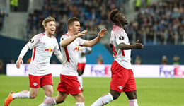 欧联-莱比锡淘汰泽尼特 拉齐奥2-0客胜基辅晋级