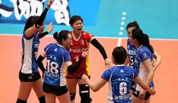 李盈莹21分天津仍0-3完败 2018女排决赛上海获赛点