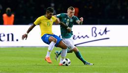 威廉助攻热苏斯制胜球 热身赛-巴西客场1-0德国