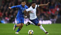 瓦尔迪破门因西涅点射 热身赛-英格兰1-1意大利