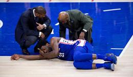 恩比德眼眶骨折需手术 预计休战2-4周缺席季后赛