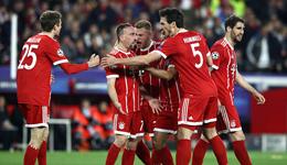 欧冠-里贝里独造两球 拜仁客场2-1逆转塞维利亚