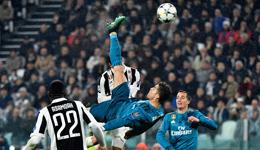 欧冠-C罗2射1传马塞洛破门 皇马客场3-0十人尤文