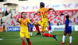中国女足国家队闯入世界杯 向女足姑娘们点赞