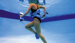 水中跑步不只是疗伤 更能提升健身水平