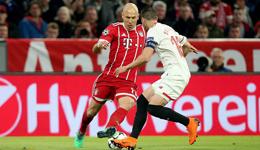 欧冠-门框救了拜仁 拜仁0-0塞维利亚晋级