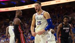 NBA季后赛赛前分析 76人vs热火