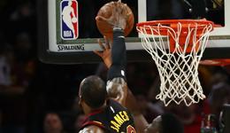 官方称詹姆斯盖帽是干扰球 奥拉迪波出手先碰篮板