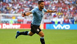 2018俄罗斯世界杯A组 乌拉圭3-0俄罗斯夺头名