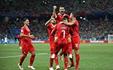 2018俄罗斯世界杯E组图片 瑞士2-2哥斯达黎加图集