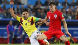 斯通斯怒喷哥伦比亚踢球太脏