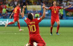 比利时2-1淘汰巴西挺进四强